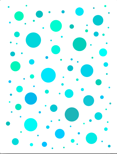 javascript - Space filling with circles of unequal size ...