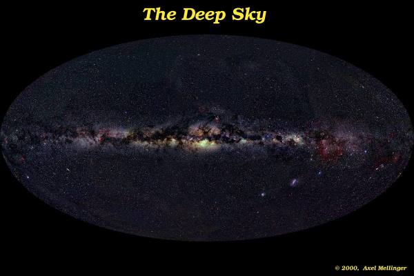"night sky - Why don't we see ""the milky way"" in both ..."