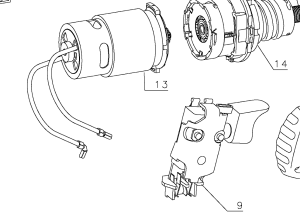 DC Motor used in cordless drill  is it polaritysensitive