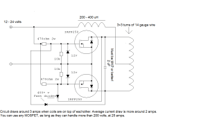 schematics  How does this wireless charger work