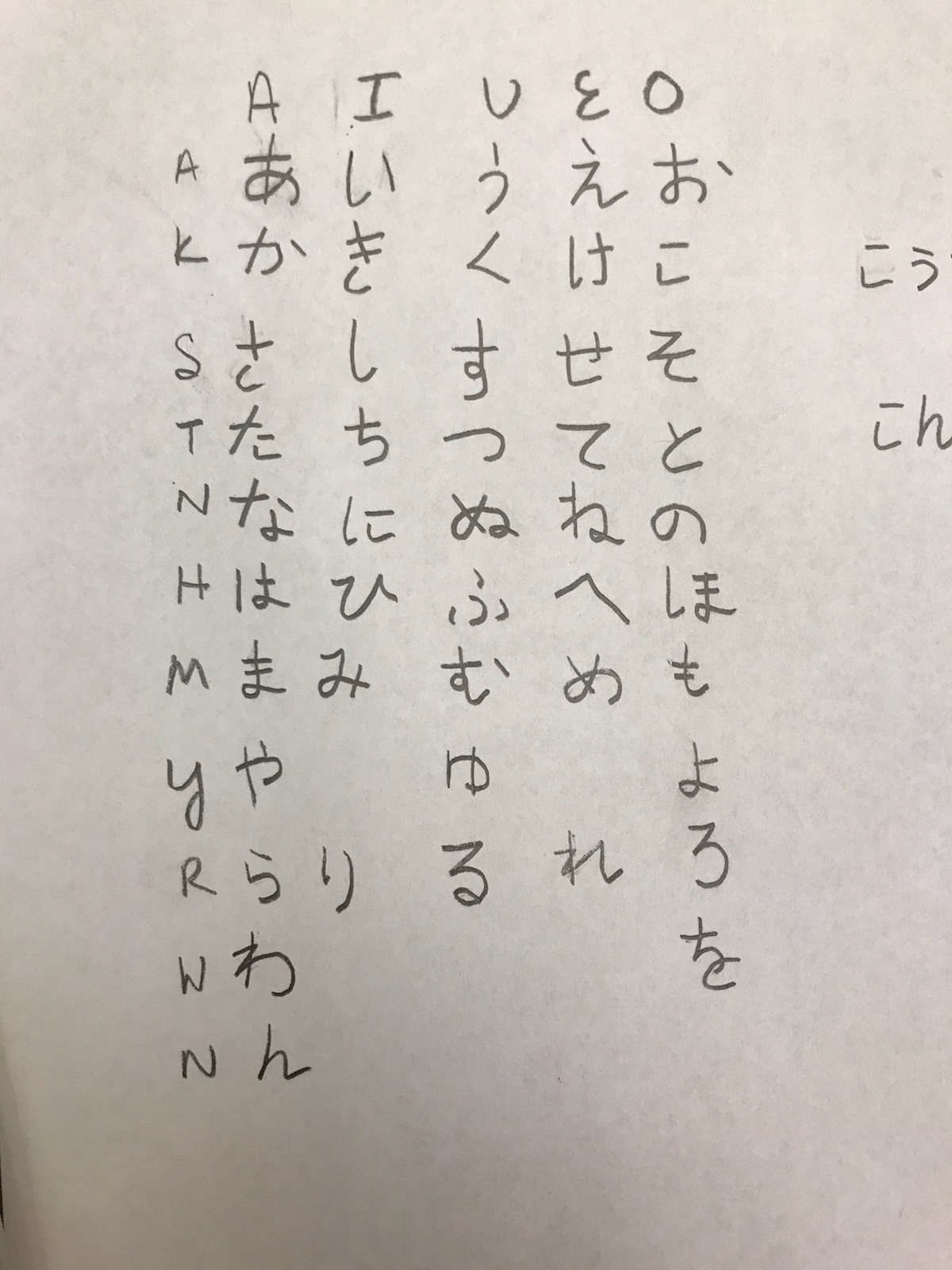 Is My Hiragana Readable