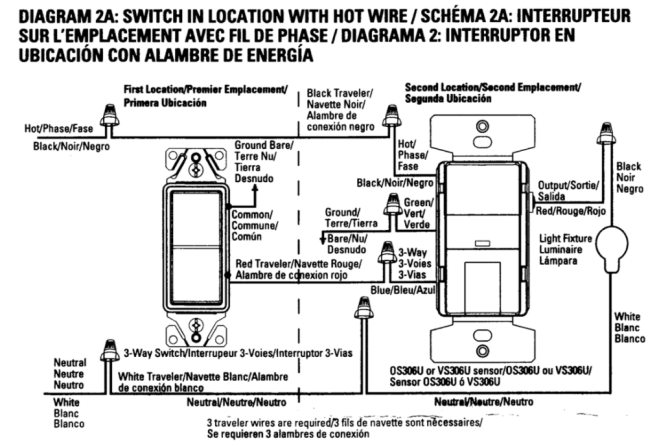 lutron dimmer 3 way switch wiring diagram power onward  g