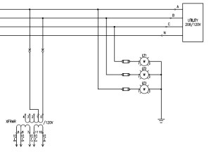 3phase Voltage OK Indicating Lights  Electrical