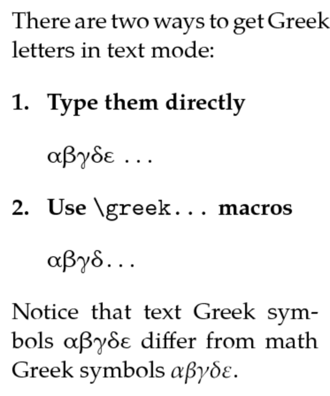 Greek Letters Latex In Text Diydry