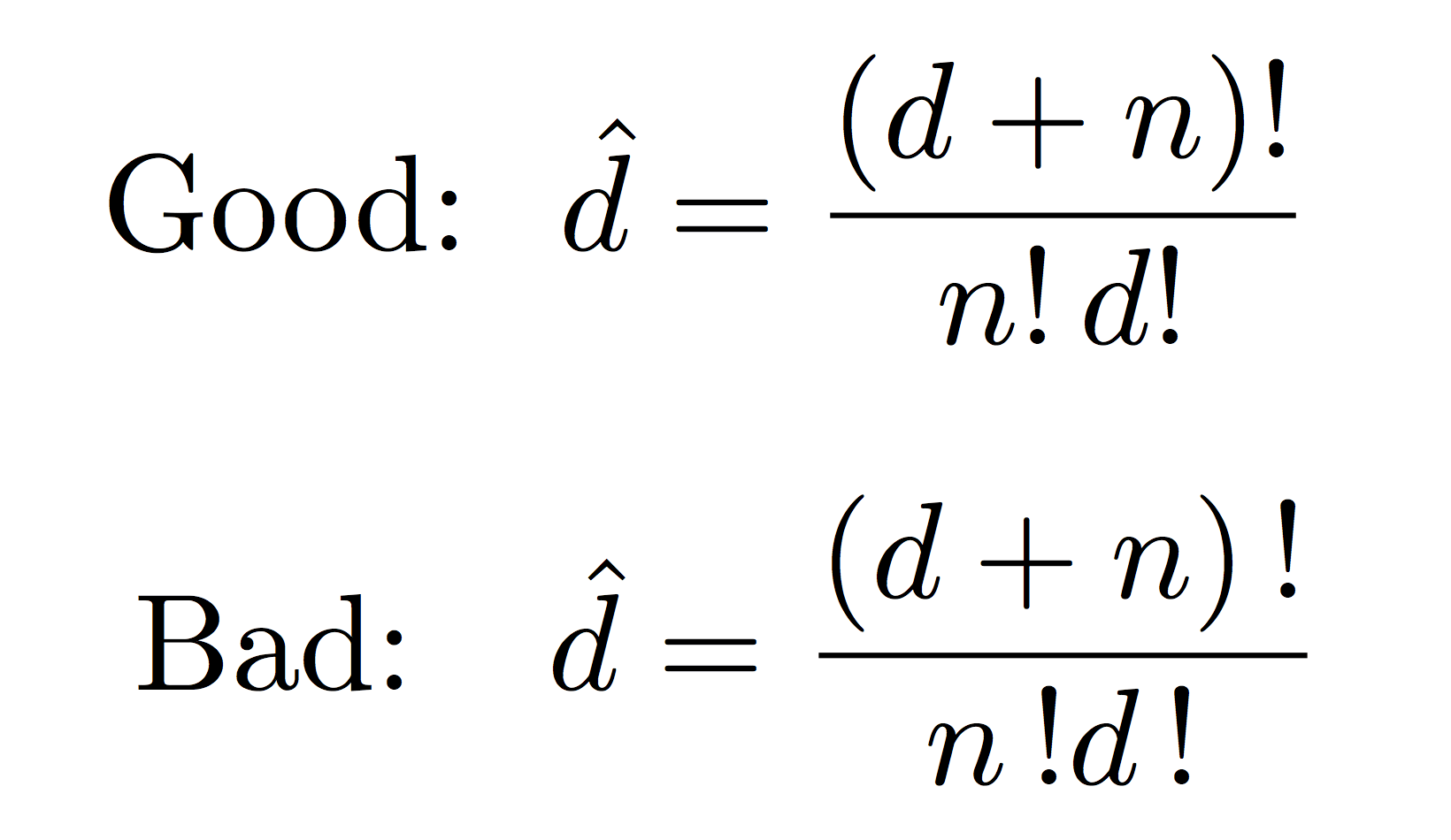 Math Equations In Latex