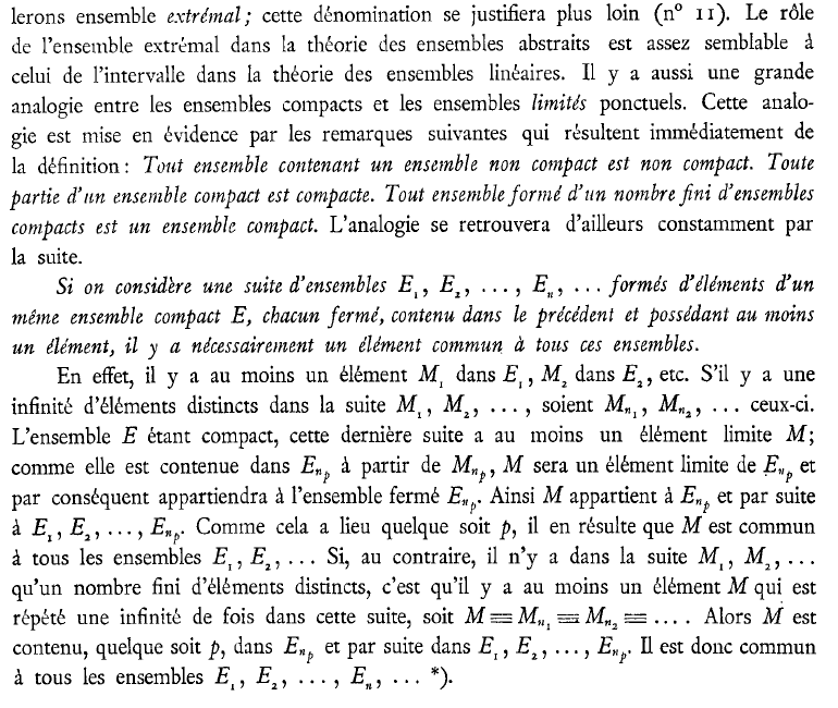 General Topology Maurice Frechet S 1904 Definitions Of