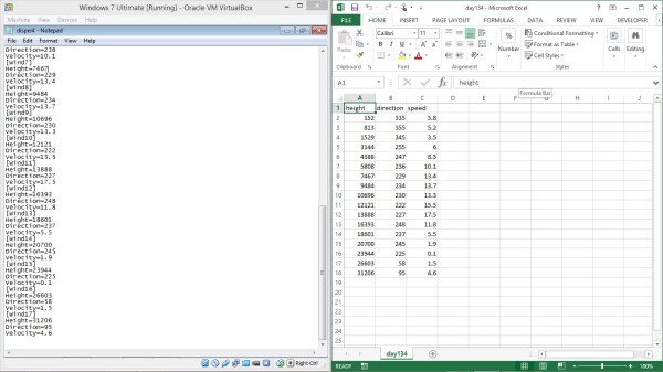 Write text from EXCEL to text as a LIST using PYTHON or ...