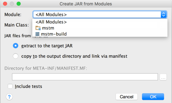java - Create JAR for project or project-build - Stack ...