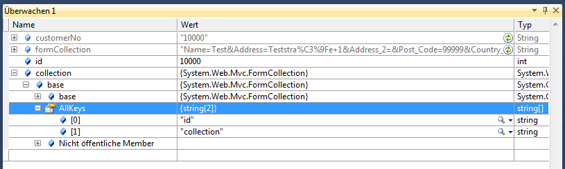 You also can't use the = character in the name/value in the query string of a url. asp.net mvc - ASP MVC 3 submit url parameters using AJAX ...