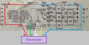 What if the furnace doesn't have a C wire connection