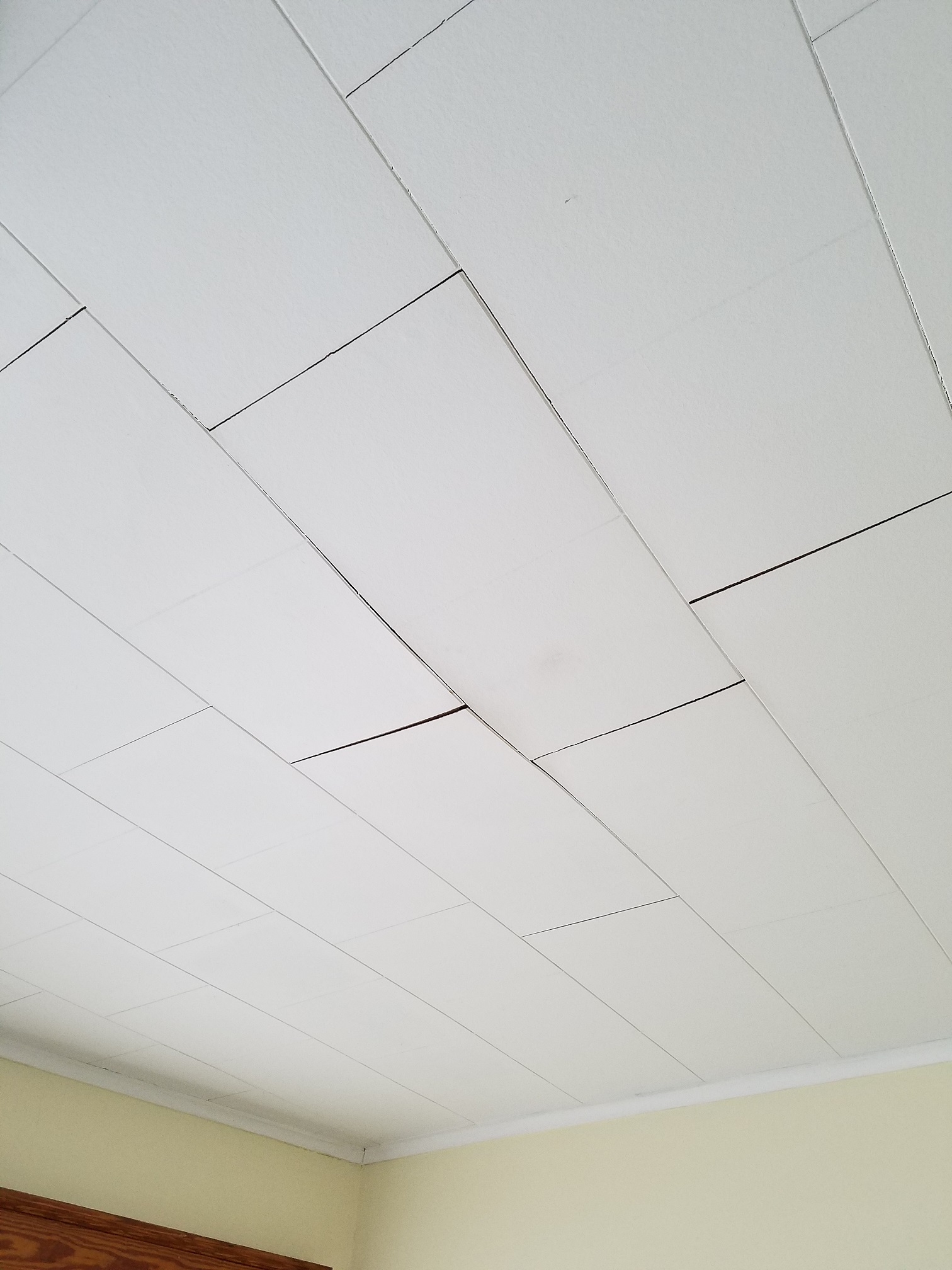 i replace these old ceiling tiles