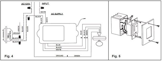 Hampton Bay Ceiling Fan Wiring Diagram With Remote