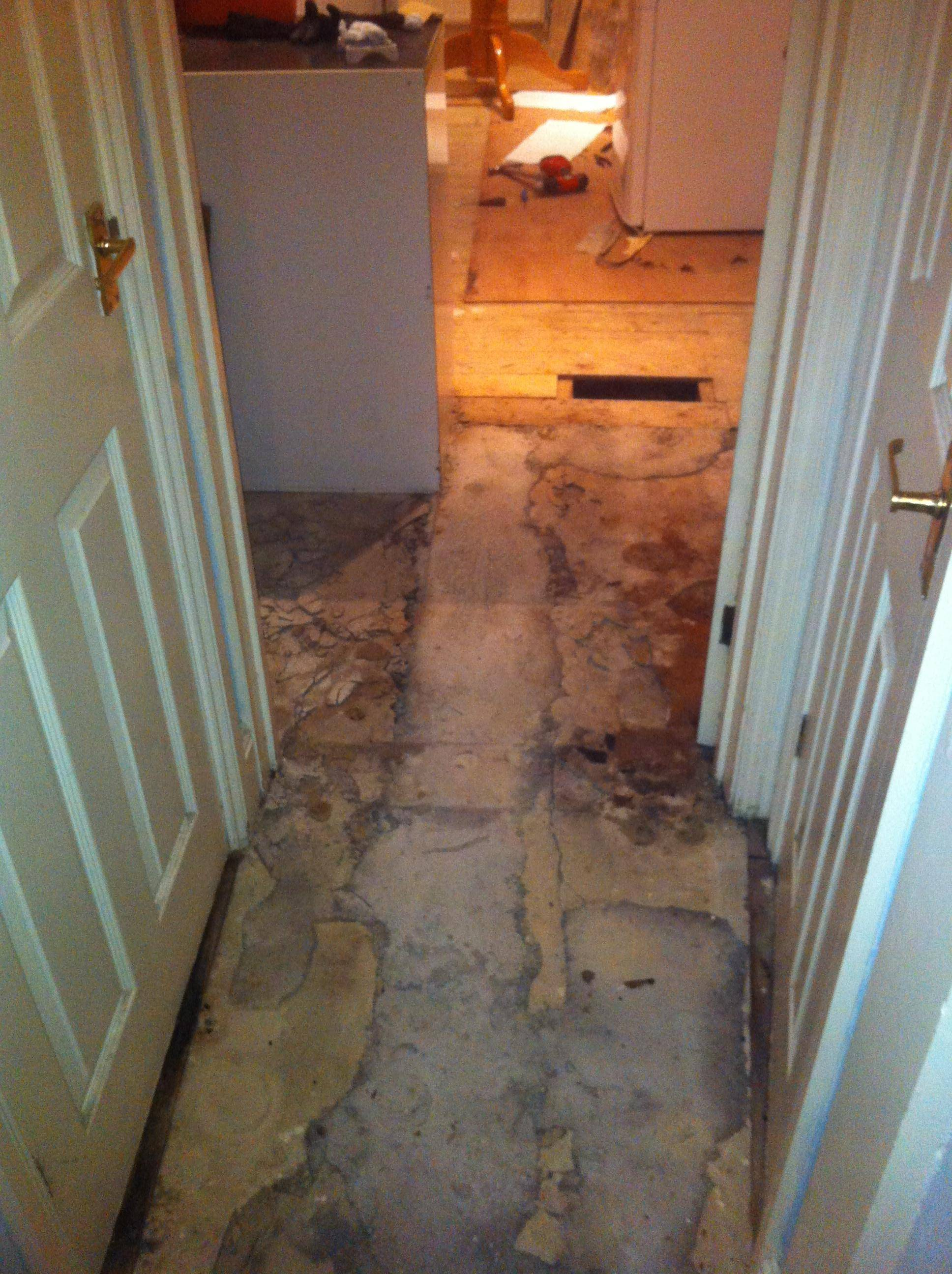 Temporary Floor Fix Ikea Laminate On Concrete And Wooden