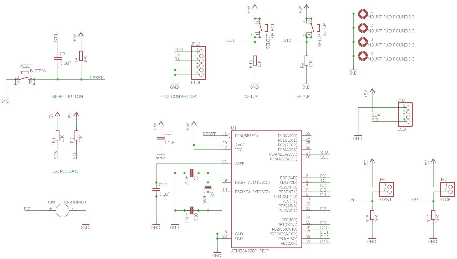 Arduino Relay Schematic