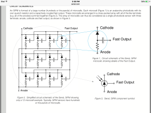 Modeling a photomultiplier in LTspice with basic ponents  Electrical Engineering Stack Exchange