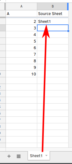 Is There A Google Sheets Formula To Put The Name Of The