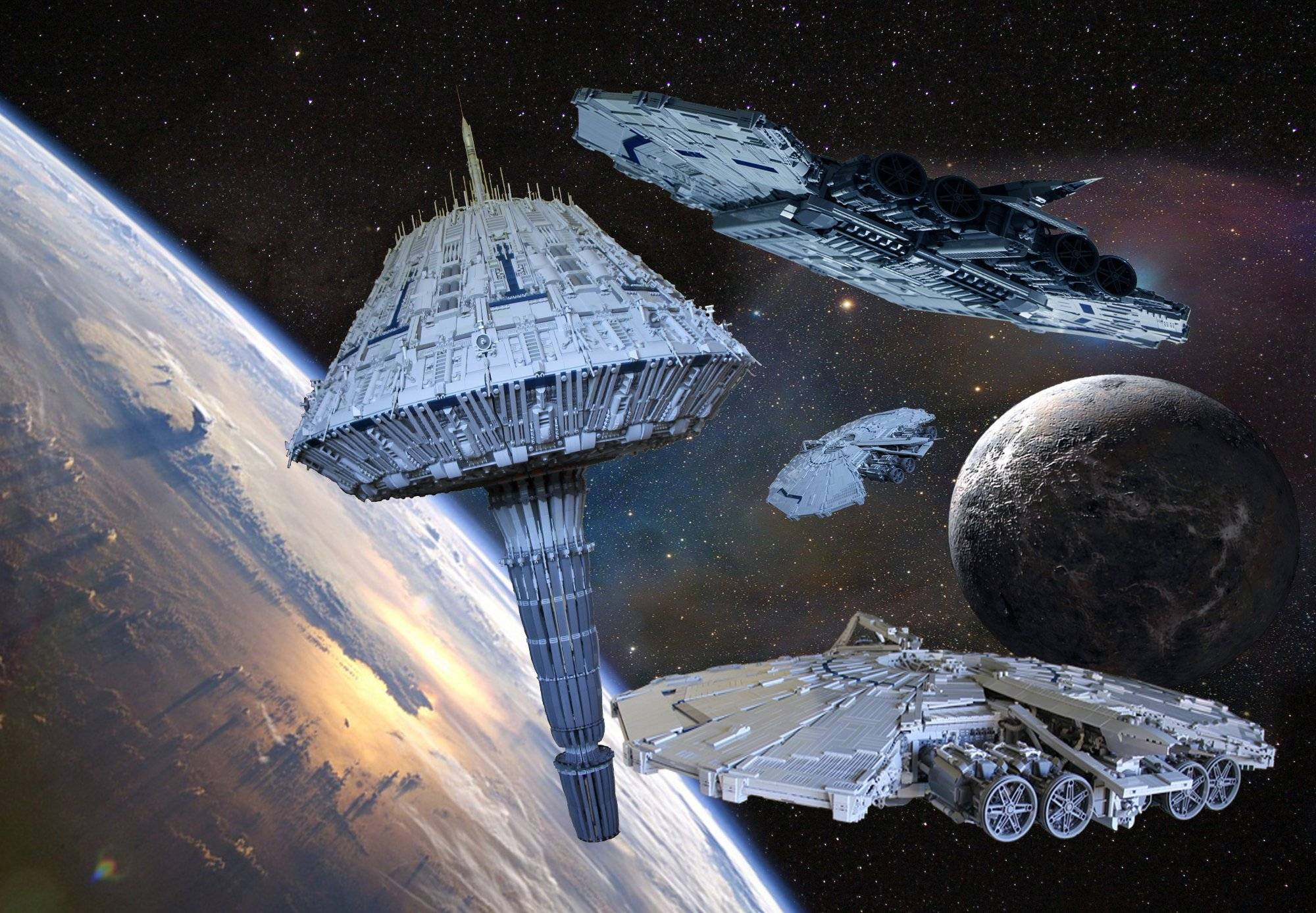 Novel What Is A Top Shaped Ship In Battlestar Galactica