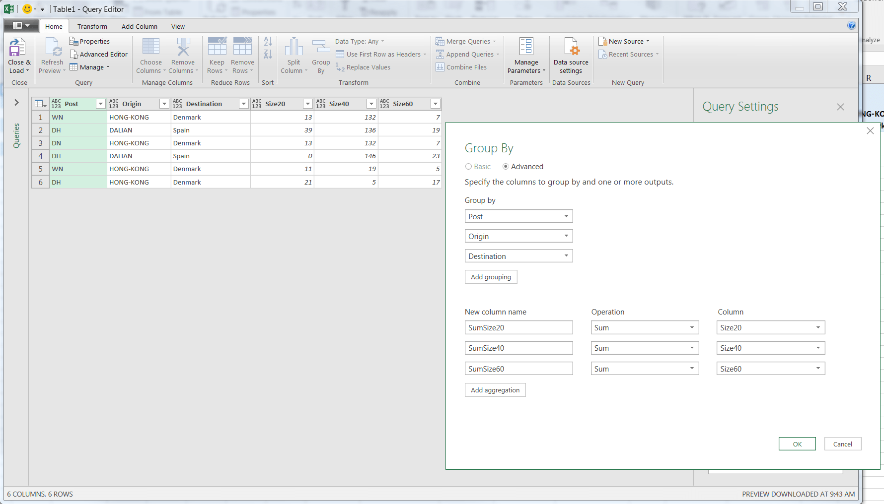Merge Rows Based On Two Unique Id And Combining