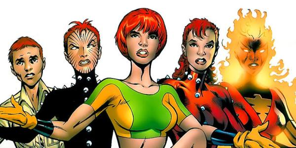 comics - What are Rachel Grey's facial marks? - Science ...
