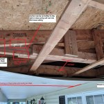 Reinforce Joist Near Rafter For Porch Swing Home Improvement Stack Exchange