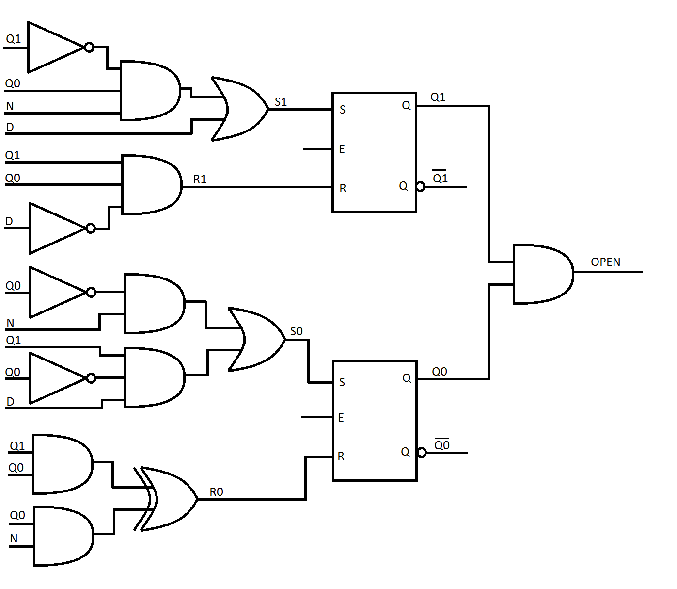 Nand Logic Gate Schematic