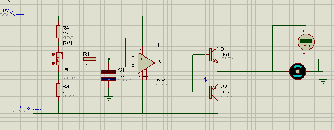 I Need Help Designing A Speed Control Dc Motor Circuit