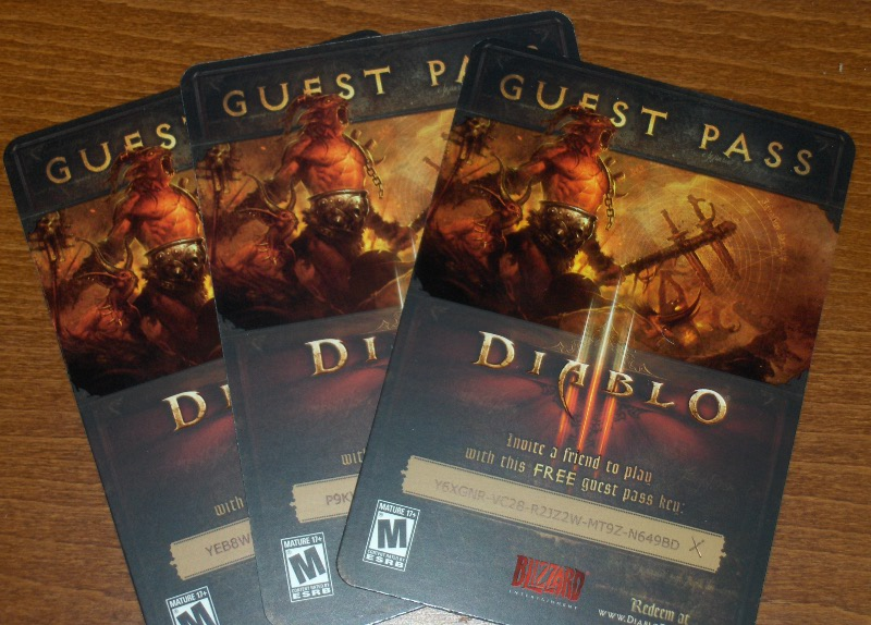 Diablo 3 What Exactly Is A Guest Pass Or Starter