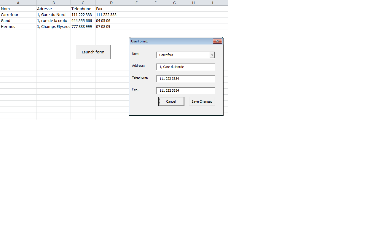 Vba Excel Combobox Issue