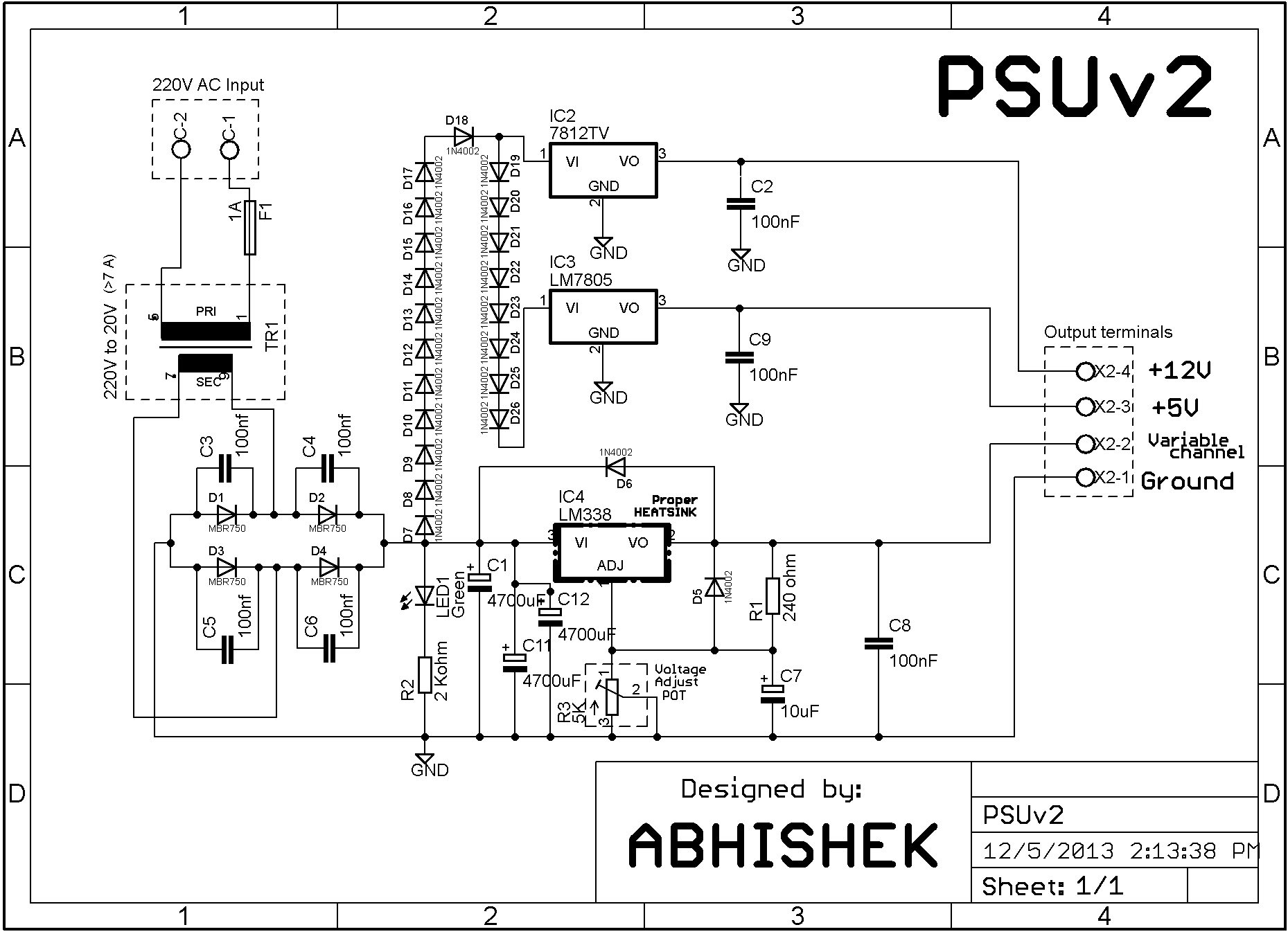 Bench Power Supply Issues That Rouse During Build