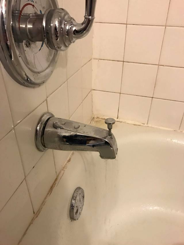 plumbing Bathtub faucet leaking Home Improvement Stack Exchange
