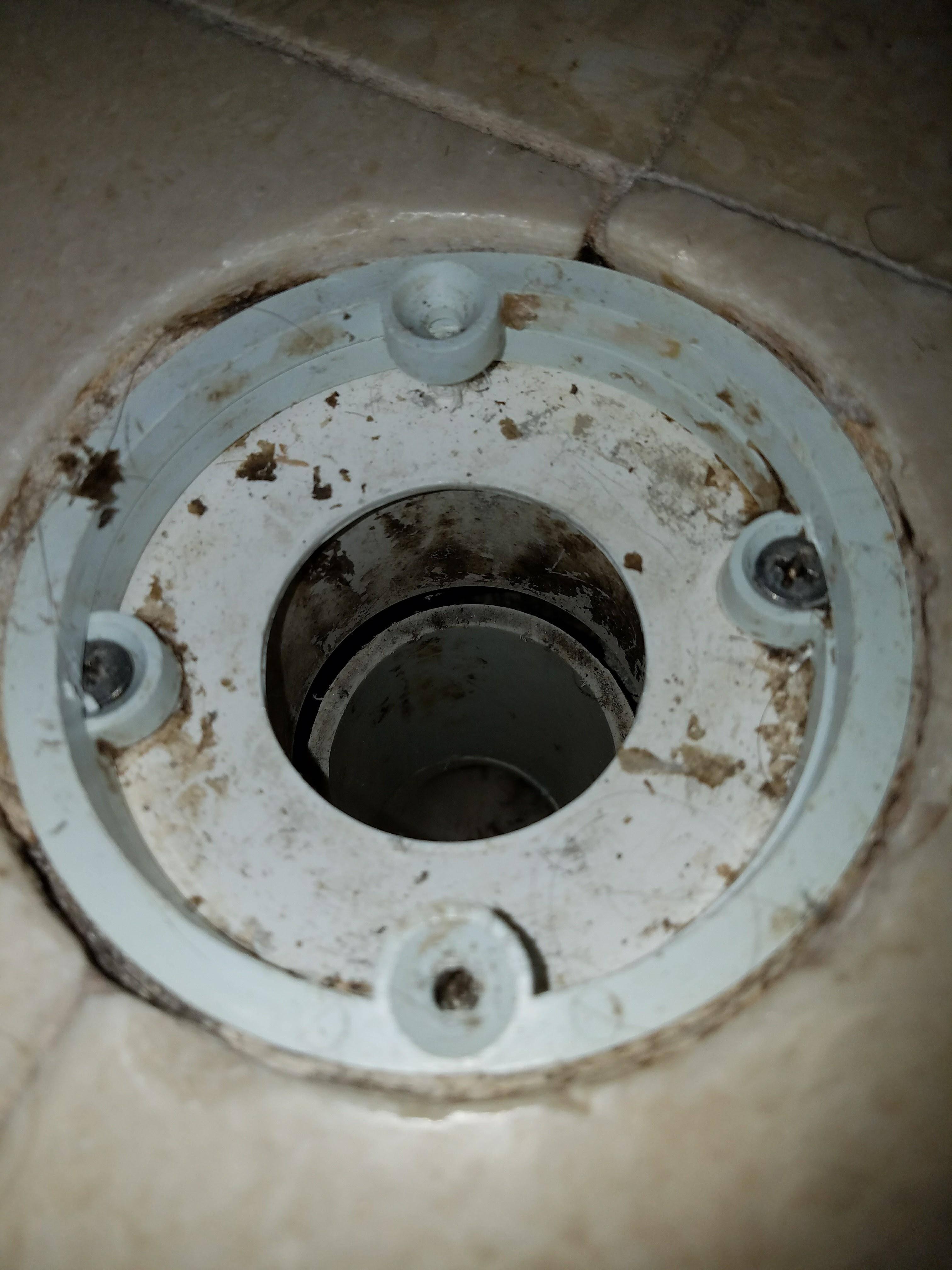 Plumbing How To Fix 12 Inch Gap Between Shower Drain