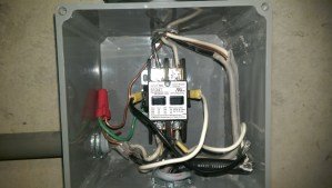 electrical  Correct wiring of float switch into two pole