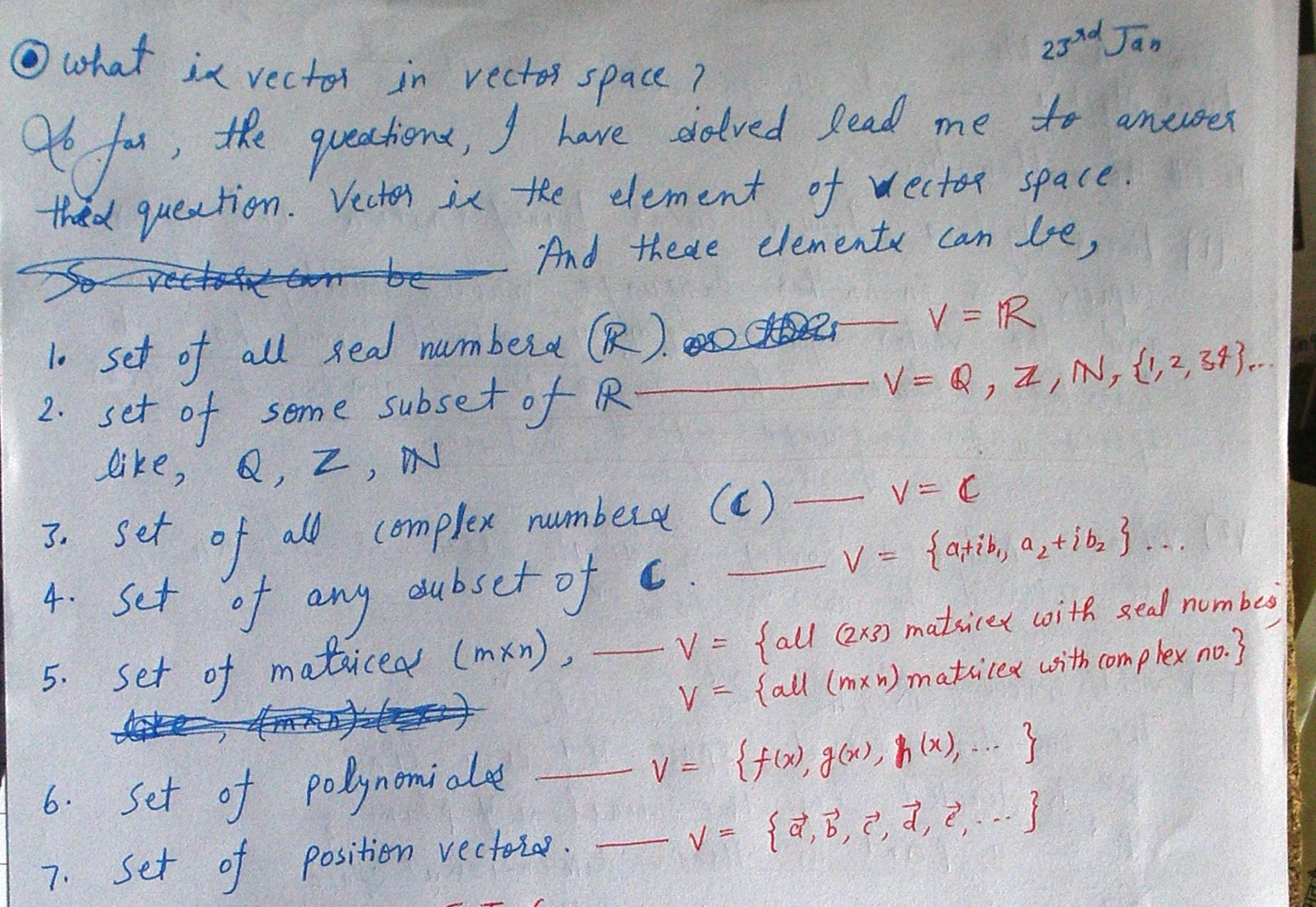 What Does Vector Mean In Linear Algebra