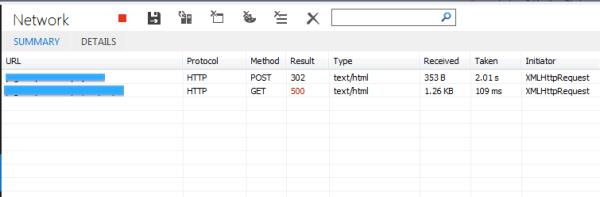 internet explorer - IE sending wrong content type on ...