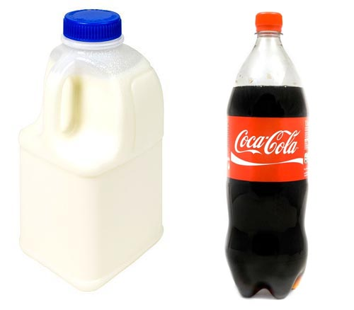 physical - Why are soft drink bottles round, and milk ...