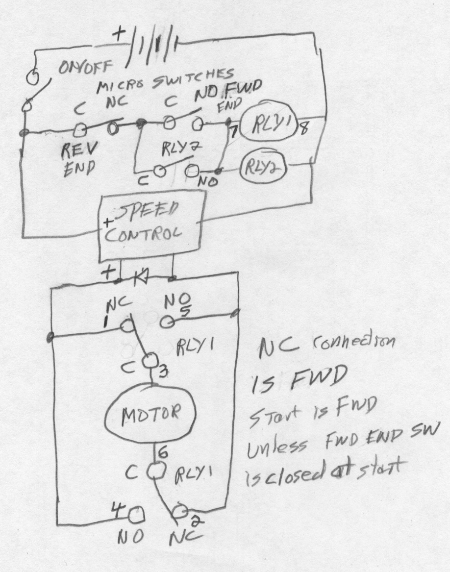Dc motor speed controller causing relay to lose voltage and stop