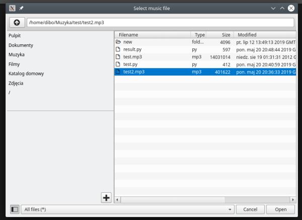 qt - QML DefaultFileDialog - sidebar selection doesn't ...