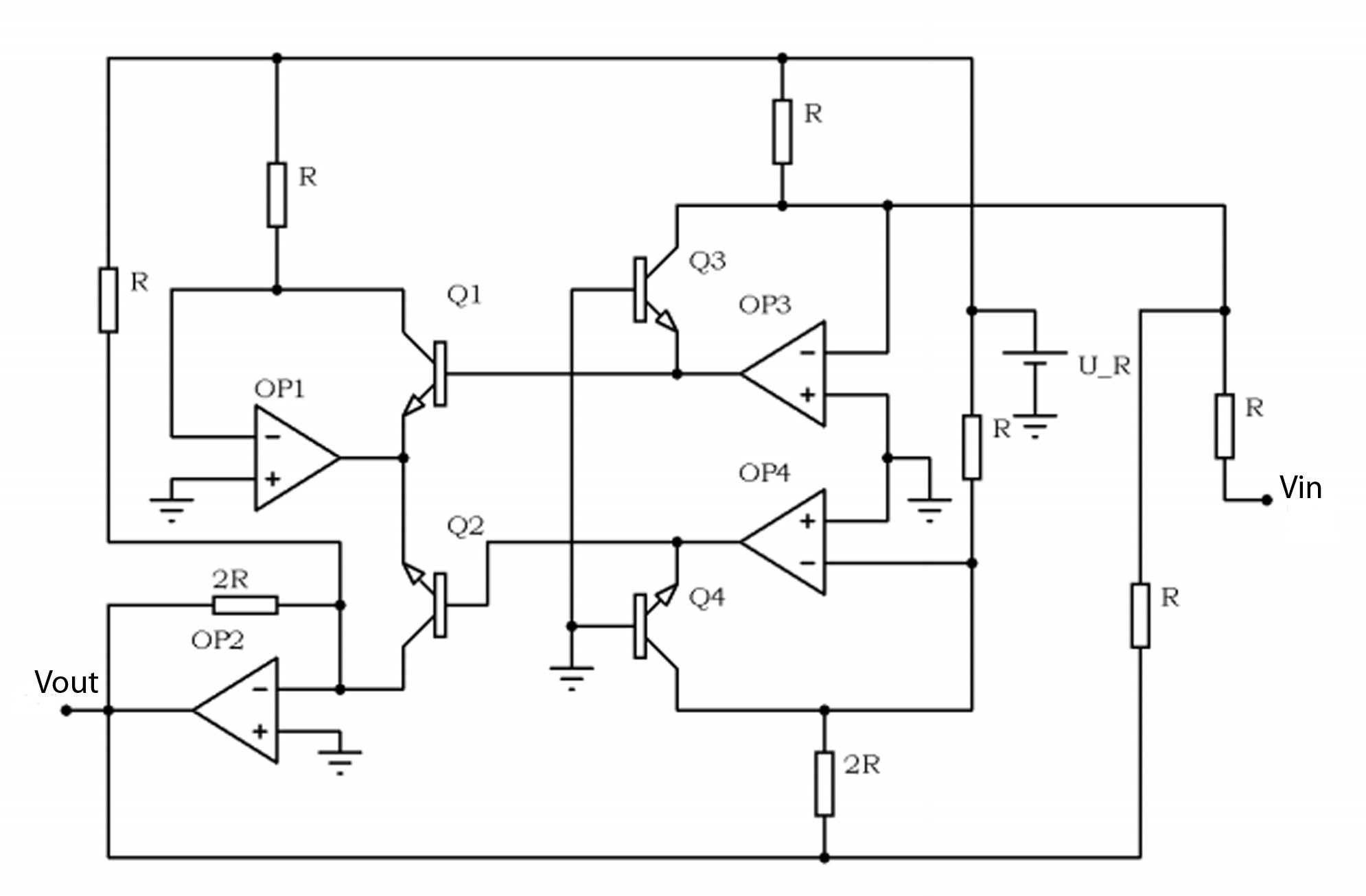 2 Bit Comparator Logic Diagram