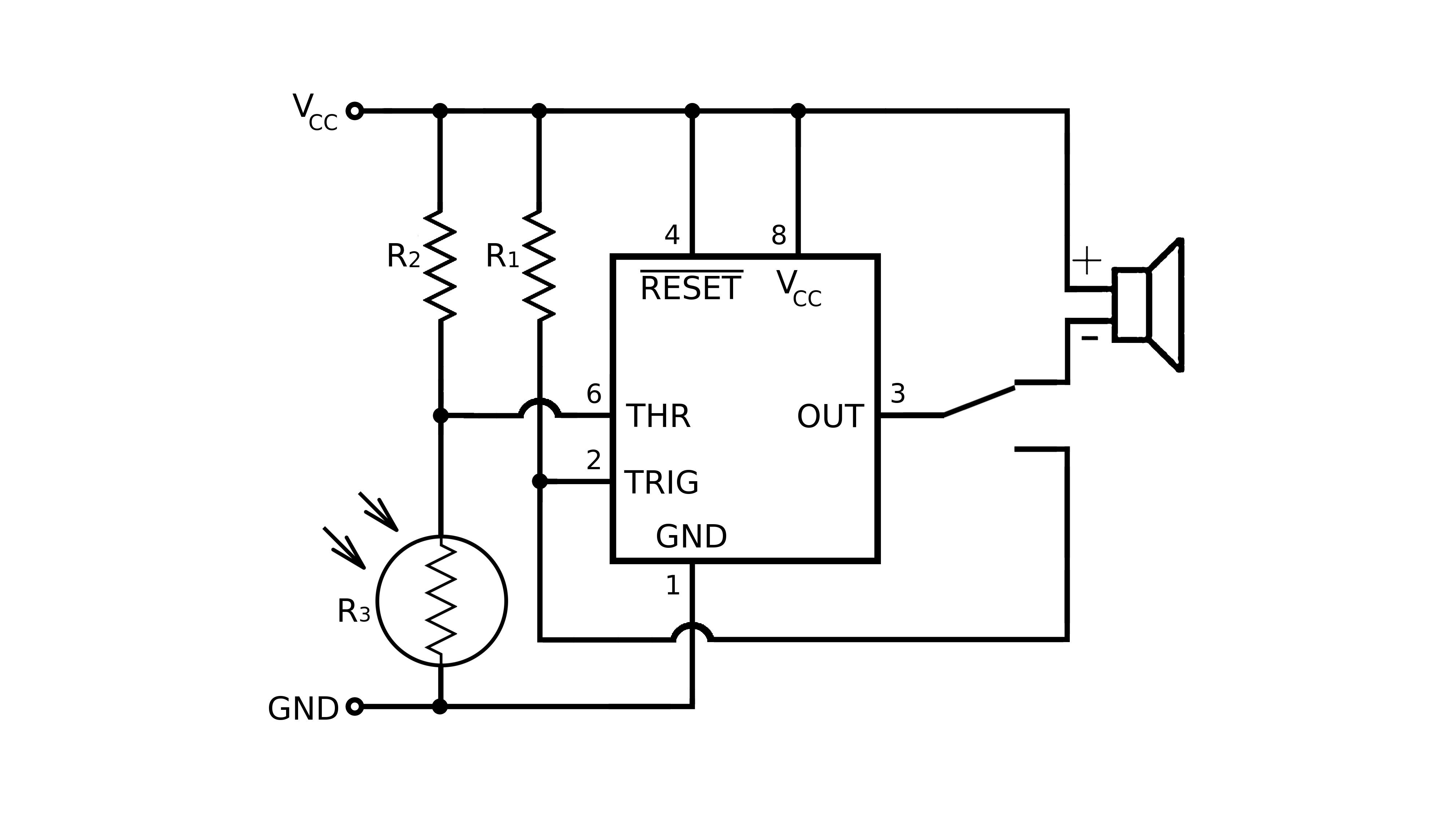 Pull Up Resistor For 555 Timer Ic