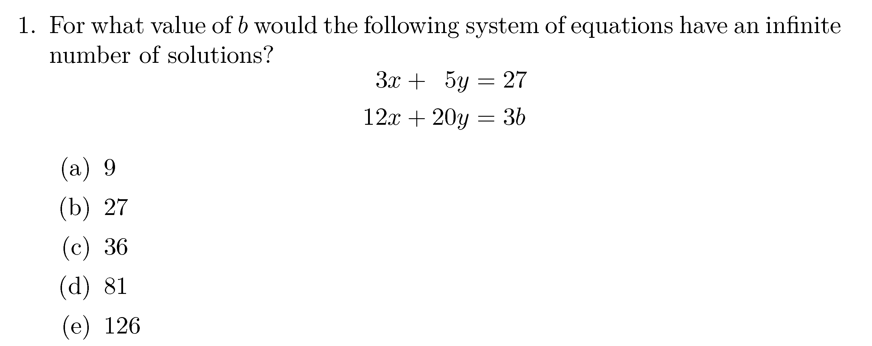 Math Mode
