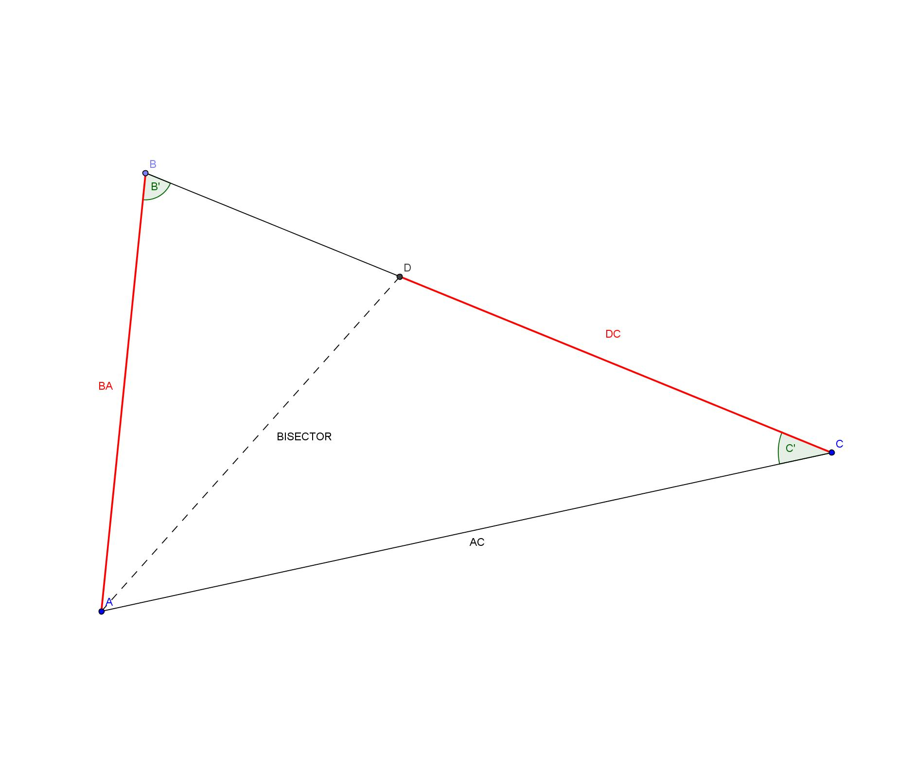 Geometry Triangles Problem