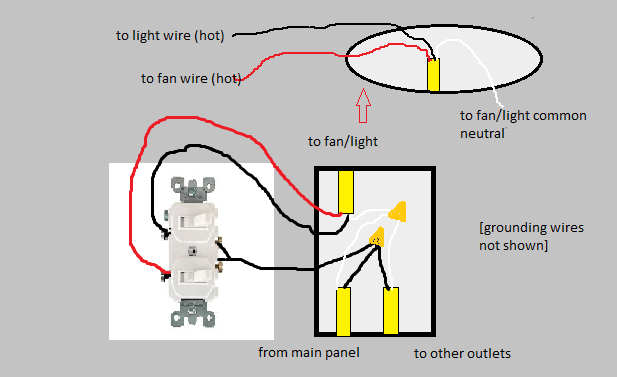 How Can I Replace A Single Switch With Two