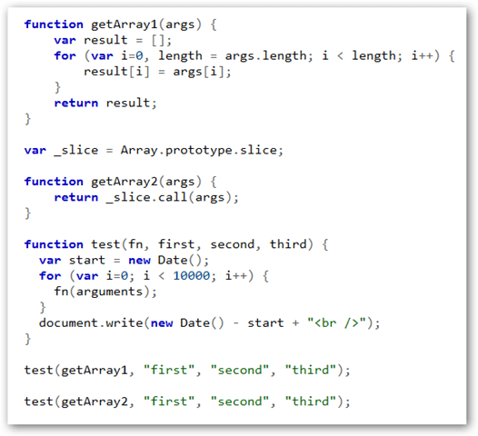 Javascript fastest way to duplicate an Array - slice vs ...