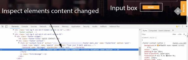 Jquery: button value change not working but changes shows ...