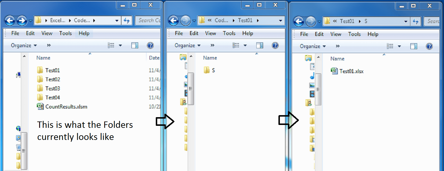 Excel Vb How To Ch Nge Code To Loop Through Multiple Folders