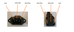 power  IEC Connector Pinouts  Electrical Engineering