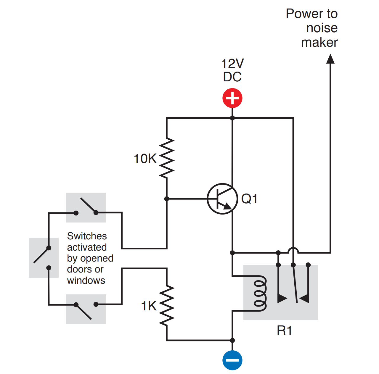 Hows Does This 12v Relay Works With Transistor Voltage