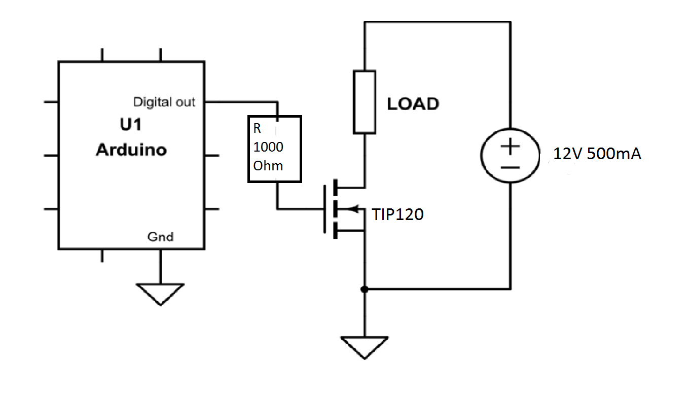 How Do I Increase The Drive Current From The Arduino