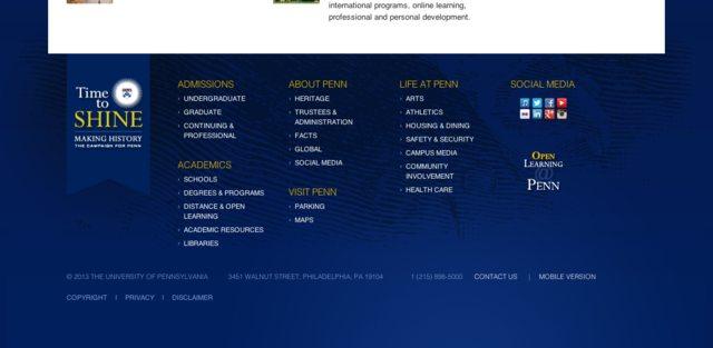 Website Design Are Mega Footers Good Ux User