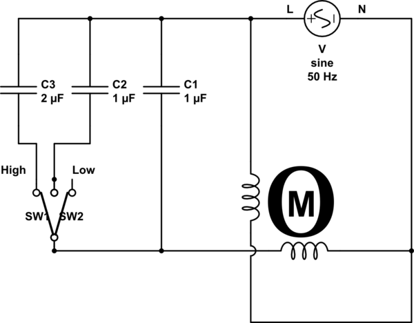 3 wire ceiling fan capacitor